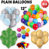 """Wholesale Halloween Party 12"""" x 100 large plain latex Balloons Zombie ghost part"""