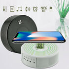 Multi-Function QI Wireless Charger/ Bluetooth Speaker/ Alarm Clock For iPhone