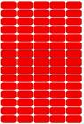 Rectangular stickers 25mm by 12mm (150 off), lots of colours available !