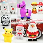 Squishy Soft Squeeze Stress Toy Slow Rising Charms Pikachu Llama Santa Squishies $3.99 USD on eBay