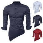 Fashion Men's Luxury Casual Shirts Slim Fit Long Sleeve Stylish Dress Shirt 2017