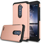 For ZTE Zmax Pro /Grand X Max 2 /Z981 Case Armor Skin Hybrid Rubber Phone Cover