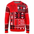 Chicago Blackhawks NHL Hockey Patches Ugly Christmas Holiday Sweater By Klew
