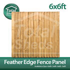 6ft x 6ft FEATHEREDGE CLOSEBOARD PANELS ***PACK OF 10***