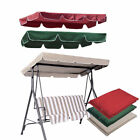 """Patio Outdoor Garden Swing 300d Canopy Replacement Porch Top Cover Seat 77""""x43"""""""