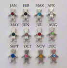 Floating Charm BIRTHSTONE KID or CRYSTAL for Glass Locket