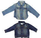 GIRLS BABY GIRLS EX NEXT STYLISH DENIM JACKET - 2 SHADES - TRENDY DENIM JACKETS