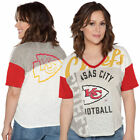 Kansas City Chiefs Touch By Alyssa Milano 15 Women's Touch Power Play T-Shirt