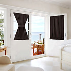 Blackout Thermal Insulated Curtain Panel For Patio French Door Window Curtains