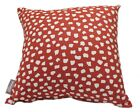 ACCENT DITA FIREFLY RED SPOT SCATTER CUSHION COVER SOFA THROW PILLOW DECOR 41cm