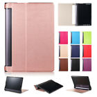 "Premium Leather Folio Stand Case Cover For Lenovo Yoga Tab 3 8.0"" 10.1"" Tablet"