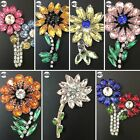 1PCS Embroidered Handmade Flower Beads Crystal Sew on Patches Applique Trim