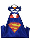 Children Kids Superhero Fancy Dress Costume Cape Mask Super Hero Party Hallowen
