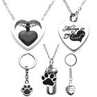 Kyпить Openable Urns Cremation Heart Memorials Dog Pendant Necklace Ash Holder Keepsake на еВаy.соm