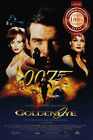 NEW GOLDENEYE 007 JAMES BOND MOVIE FILM ORIGINAL CINEMA ART PRINT PREMIUM POSTER $11.95 AUD