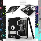 Kids Heavy Duty Shockproof Stand Xmas Case Cover For Ipad 4 3 2 Mini 2/3 Air 1 2