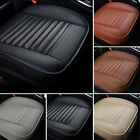 1pc Car Bamboo Charcoal Full Surround Seat Cover Pad Pu Leather Protect Cushion