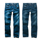 Hero Portland Slim Fit Straight Stretch Jeans Hose Rinse Wash o. Dark Blue Wash