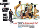 You Only Live Twice - James Bond - 1967 - Movie Poster £24.7 GBP