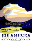 See America - Welcome To Montana - 1937 - Travel Poster