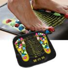 High Quality Reflexology Mat Stone Walk Massager Foot Leg Relief Acupressure LJ