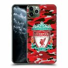 OFFICIAL LIVERPOOL FOOTBALL CLUB CAMOU HARD BACK CASE FOR APPLE iPHONE PHONES