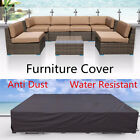 Waterproof Outdoor Furniture Patio Garden Wicker Chairs Tables Sofa Couch Cover