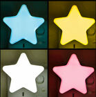 Hot Creative Bedroom Star Intelligent Light Control Soft Led Night Light Plug