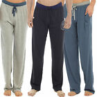 mens Pyjamas Bottoms Trousers Cotton Mix pjs lounge plain jersey pants gym ht542