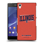 OFFICIAL UNIVERSITY OF ILLINOIS U OF I HARD BACK CASE FOR SONY PHONES 2