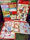 PEEL AND STICK CHRISTMAS GIFT TAGS STICKERS SCRAP BOOKING BOY GIRLS PRESENTS