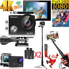 Action Camera Ultra 4K HD 1080P 16MP WiFi Waterproof Sport  Camcorder NEW US