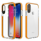 Apple iPhone X TPU Sturdy Bumper Anti Shock CANDY Gel Flexi Cover + Screen Guard