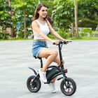 """12"""" 350W Electric Bicycle EBike Mountain Speed Change Lithium Battery Best Gift"""