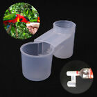 10Pcs Plastic Pet Bird Drinker Feeder Water Bottle Cup For Chicken Pigeons