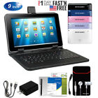 "9""Inch Android 4.4 Tablet PC Quad Centre Dual Camera HD 8GB WiFi Bundle Gifts"