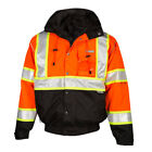 ML Kishigo JS120 Class 3 Orange Premium Bomber Jacket