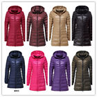 long way down release date - S-6XL NEW Women's Ultralight Long Down Hooded Jacket Puffer Parka Coat Winter