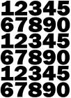 40mm Numbers for Bins, Sports, Signs. Lots of colours to choose from !