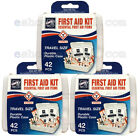 42 PC Medical Emergency First Aid Kit Workplace Car Home Outdoor Survival Hiking