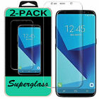 2X Samsung Galaxy S8 S8Plus & Note 8 HD Clear Full Coverage Screen Protector