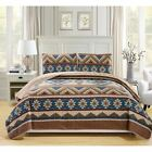 Fashion Street Egypt Quilted 3-piece Bedspread Set