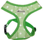 Morning Dew Dog Harness  Green & White - Clearance