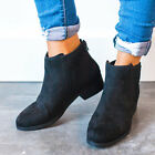 BAMBOO Cut Out Detailed Bootie Black Ankle Boots Bootie 5.5-10 SABER-03S