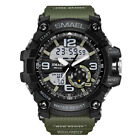 SMAEL Men's Fashion Sport LED Waterproof Digital Analog Military Alarm Watch