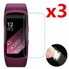 3pcs HD Invisible Screen Protector Film Guard for Samsung Gear Fit 2 Smart Watch