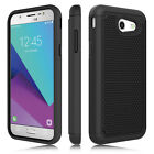 For Samsung Galaxy J3 Emerge/Prime/J3 Luna Pro Case Cover+Glass Screen Protector