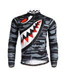 Men's Cycling Clothing Bicycle Jersey Sportswear Long Sleeve Mtb Bike Top ...