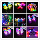 Hot Unisex Kids Dog Style Glowing Concert Head Band Props Accessories Toys