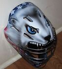HUSKY AMERICAN FLAG CATCHERS HELMET MASK YOUTH & ADULT PERSONALIZED